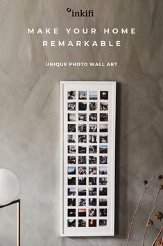 Make your home remarkable with this beautiful, 52 aperture large photo frame, featuring your own photos. For home decor with the wow factor this frame is the way to go. Cute Room Decor, Wall Decor, Room Ideas Bedroom, Bedroom Decor, Grand Cadre Photo, Unique Home Decor, Diy Home Decor, Aesthetic Room Decor, Wow Products