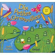 """Résultat de recherche d'images pour """"dix petites grenouilles"""""""