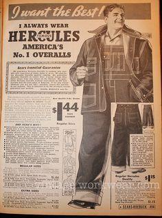 vintage workwear: HERCULES Jacket