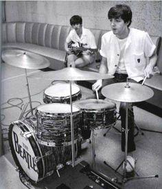 Paul on drums !