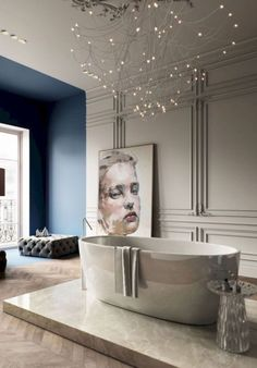 - Classic bathroom style has been widely used for decades. There are a lot of families who like designing a classic bathroom - this style is not out of . Modern Classic Bathrooms, Modern Bathtub, Modern Master Bathroom, Minimalist Bathroom, Bad Inspiration, Bathroom Inspiration, Bathroom Ideas, Bathroom Taps, Bathroom Designs