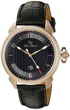 Lucien Piccard Men's LP-40053-RG-01 Trevi Analog Display Popular Watches, Watches For Men, Women's Watches, Wrist Watches, Lucien Piccard, Limited Edition Watches, Mens Attire, Grown Man, Vintage Watches
