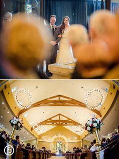 Ascension Catholic Church | wedding | wedding photos | wedding photography | February wedding | freelandphotography.com