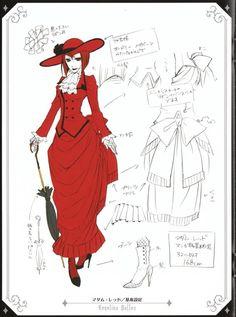 Madame Red  Black Butler  http://i599.photobucket.com/albums/tt80/Tiallu-Illuwyd/Referenzbilder/madame_red_referenzbild.jpg?t=1254231434