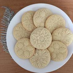 Gooey Cookies, Cocoa Cookies, Buttery Cookies, Fancy Cookies, Spritz Cookies, Shortbread Biscuits, Shortbread Recipes, Cookies Et Biscuits, Cookie Recipes