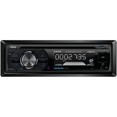 BOSS AUDIO 508UAB Single-DIN CD/MP3 Player Receiver, Bluetooth, Wireless Remote