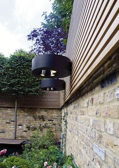 SR Residence - London, UK. Collaboration with DOS architects /// residence / wall light / decorative / outdoor / water resistant / steel /// Contact us - pslab.net