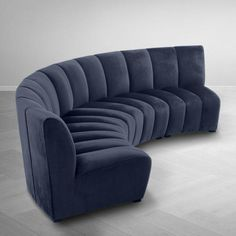 Create a seating ensemble that's made for you by combining several Lando chairs to your preferred configuration: whether a left or right corner sofa, a semi-circular couch or a snug C-shaped seater. The tapered design of the seating, together with the vel Gebogenes Sofa, Sofa Furniture, Furniture Plans, Luxury Furniture, Modern Furniture, Furniture Design, Rustic Furniture, Antique Furniture, Outdoor Furniture