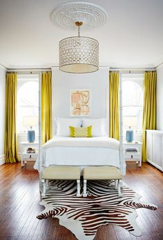 Yellow and Gray Bedding That Will Make Your Bedroom Pop | Pinterest ...
