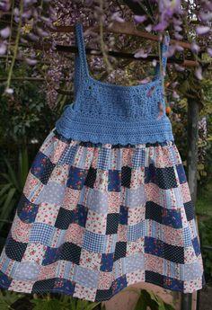 #Vestido de #criança #Childrens #dress #canesu #crochet #vestido de #verão #summer #dress