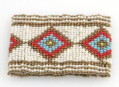 Diamonds Seed Bead Bracelet | Vicolo Mio | $30