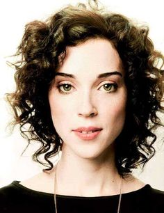 14.Curly Short Hairstyle