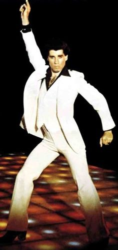 John Travolta - Saturday Night Fever  Para los jóvenes que somos de los 70´s
