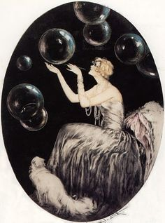 Louis-Icart,-Bubbles.jpg (371×500)