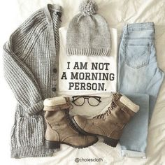 Back to school outfit: comfy