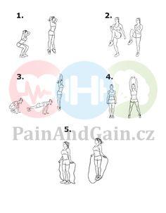 ▷ Příklad cvičebního plánu na hubnutí doma 2020   PainAndGain.cz Workout, Words, Sport, Deporte, Work Outs, Sports, Exercise, Horse