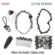 New Arrivals! Glam-chic with EVITA PERONI เครื่องประดับตกแต่งผมคอลเลคชั่นเก๋ ให้ลุคหรู พร้อมให้ช้อปออนไลน์แล้ววันนี้