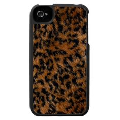 Wild Leopard Fur iPhone4 Case