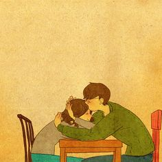 """♥ YOUR LOVE ~ """"Thank you for loving me.""""  ♥  by Puuung at https://www.facebook.com/puuung1?fref=ts  ♥"""