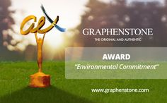 """Graphenstone, awarded in Environmental Commitment category at the """"Andalucía Excelente 2017 Awards"""", Spain. Distinguished awards recognized the model product of Graphenstone and is now the Andalusian Award 2017 in Environmental Commitment category, who distinguished his work and contribution to the general welfare.  https://www.andaluciaexcelente.es/noticias/galardonados-2017/graphenstone/ https://www.facebook.com/andaluciaexcelente/"""