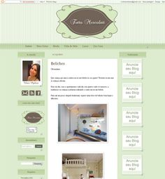 Trabalho entregue Blog e Face Tutto Mescolatti - Cantinho do blog Layouts e Templates para Blogger