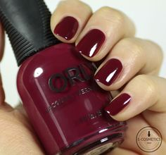 Orly Infamous Holiday 2015 Collection - Scandal