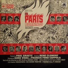 Maurice Jarre - Is Paris Burning? (The Original Sound Track Recording) (Vinyl, LP, Album) at Discogs
