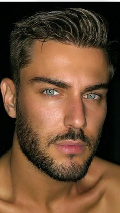 Boy Face, Face Men, Male Face, Moustaches, Hot Hunks, Gorgeous Eyes, Dream Hair, Hair And Beard Styles, Good Looking Men