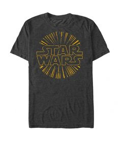 Star Wars Star Burst T Shirt. Officially licensed graphic tee.