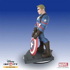 ArtStation - Captain America Civil War Figurine: Disney Infinity by BAllen, B Allen