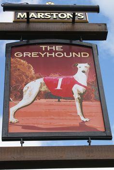 Gloucester - Greyhound (Longlevens) Pub sign in August 2010.JPG (500×743)