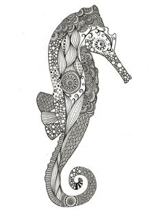 cool seahorse be a cool tattoo