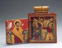 Pendant Icon [Ethiopia; Amharic] (1997.81.1) | Heilbrunn Timeline of Art History | The Metropolitan Museum of Art