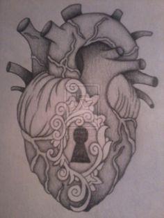 Anatomical heart lock.