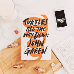 It's quite rare to find someone who sees the same world you see  QOTD - Whats your favourite John Green book? And whats your favourite quote from that book?   . . . . . . . #johngreen #turtlesallthewaydown #capturinglife #dreamy #bookstagram #contentcreator #instabook #bookish #ireadya #bookworm #readersofig #flatlay #fiction #asthetics #talwd #tfios #prettylittleinspo #postitfortheasthetic #bookoftheday #booktography