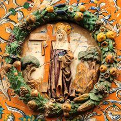 Niculoso Pisano: Santa Elena. Monasterio de Santa Paula, Sevilla (1504)