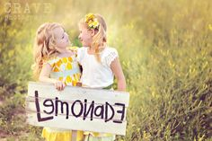 So sweet! I loved when my sister and I tried to sell lemonade outside of our house! What an innocent time of our lives!
