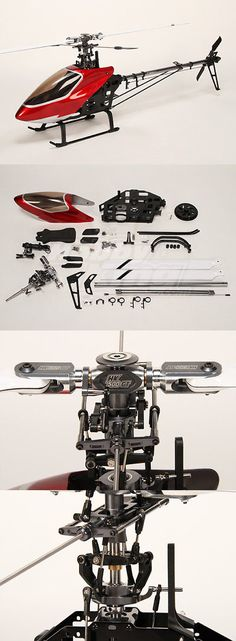 Helicopters 182205: Rc Hk-500Gt 3D Electric Helicopter Kit (Incl. Blades And Extras) -> BUY IT NOW ONLY: $81.82 on eBay! Helicopter Kit, Remote Control Cars, Rc Cars, Helicopters, Cool Gadgets, Blade, Electric, Things To Come, 3d