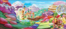 Backdrops: Candyland 7A