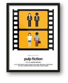 Graphic Designer Creates Clever Posters That Sum Up Entire Movies In Two Frames