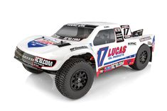 Team Associated's is a Ready-To-Run RC replica of the trucks driven in the Lucas Oil Off Road Racing Series. Trophy Truck, Rc Autos, All Terrain Tyres, Off Road Racing, Short Courses, Radio Control, Rc Cars, Women's Accessories, Trucks