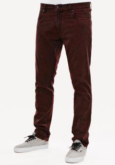 Reell Nova, Jeans-Regular-Fit, red-black Titus Titus Skateshop #JeansRegularFit #MenClothing #titus #titusskateshop