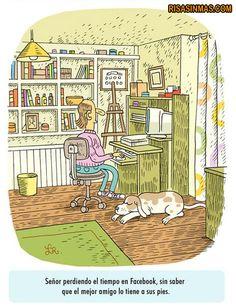 El mejor amigo… no está en Facebook (ni en ninguna Red Social).  http://bit.ly/KT6dTS