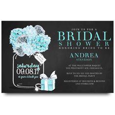 43 best cheap bridal shower invitation images on pinterest cheap tiffanys bridal shower invitation mason jar 2 filmwisefo