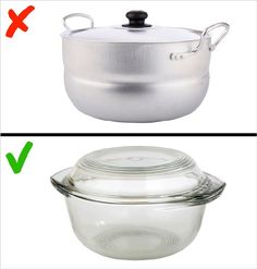 4 Types of Toxic Cookware to Avoid and 4 Safe Alternatives Alternative, Kitchen Hacks, Cookware, Cleaning Hacks, Health Fitness, Healthy Eating, Cooking, Food, Batteries