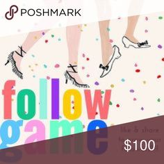 FOLLOW • LIKE • SHARE • GROW ☝🏼️Want more followers? Read👇🏼Boutique Turning this into a follow game! ❤️ want more followers? 1️⃣ Like this listing 2️⃣ Follow EVERYONE who liked this 3️⃣ Share this listing ! Super easy! ❤️ Other