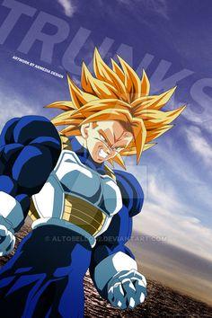 Art by me. Dragon Ball Z and all characters belongs to Toriyama Akira