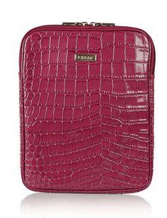 DKNY Patent leather iPad case