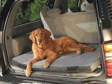 Heated Cargo Travel Dog Bed
