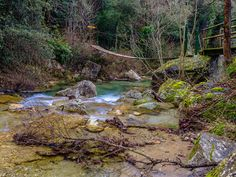 Sant Aniol d'Aguja River, Outdoor, Lakes, Natural Swimming Pools, Waterfalls, Viajes, Places, Blue Prints, Outdoors